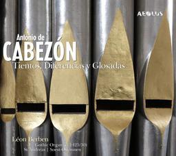 Tientos, diferencias y glosadas | Cabezón, Antonio de (1510-1566). Compositeur