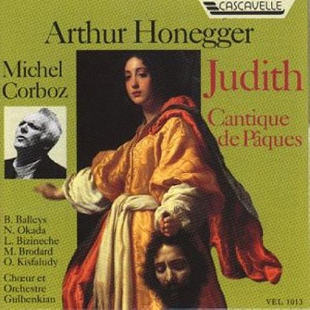 Judith ; Cantique de Pâques | Honegger, Arthur (1892-1955)